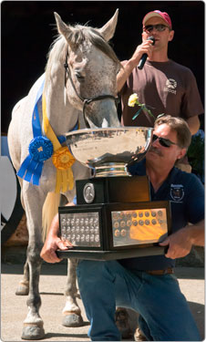 Easyboots and the Barefoot Horse Win The 2010 Haggin Cup